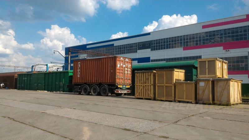 Железнодорожный контейнер